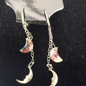 Jewelry - *Handmade* Crescent Moon Earrings